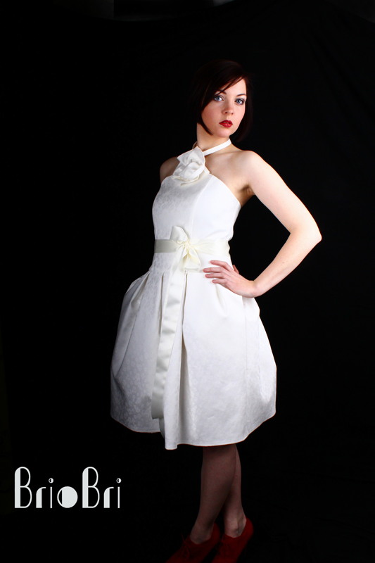 50er Jahre Hochzeitskleid Briobri Modedesign